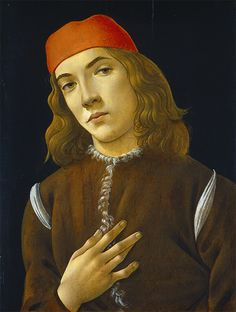 Portrait of a Young Man, c. 1480-5 by Sandro Botticelli. Image courtesy of the National Gallery of Art, Washington l Victoria and Albert Museum