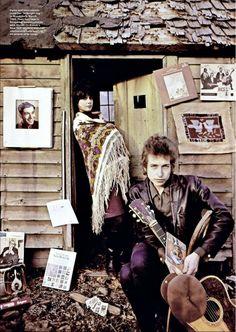 The Real Jack Bob and Sara Dylan 1965