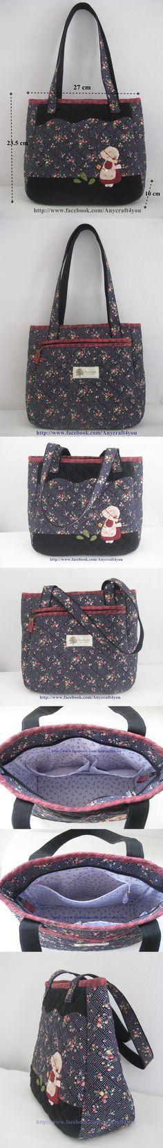 Patchwork Bags, Quilted Bag, My Bags, Purses And Bags, Sacs Tote Bags, Diy Purse, Jute Bags, Wallet Pattern, Denim Bag