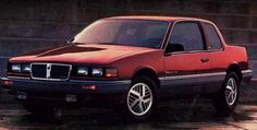 1986 Pontiac Grand Am - Although technically not my car, my sister had one of these she would let me borrow on occasion for a big date.