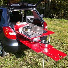 Kit acampamento super compacto SwissRoomBox   designerGH