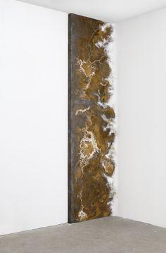 'Chronic #8' John von Bergen Book Sculpture, Wall Sculptures, Felt Art, Bergen, Installation Art, Mixed Media Art, Textiles, Cement, Metal Working