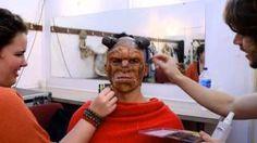 beauty and the beast beast makeup - YouTube