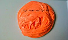 Fluffy Orange Sparkle Slime - Orange Slime - Kids Entertainment - Kids Toys - Summer Fun Toys - Elusive Wolf by ElusiveWolf on Etsy