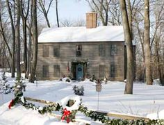 Malmberg Saltbox house taken by EAL Christmas issue 2009