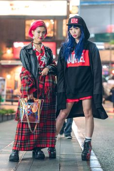 The Best Street Style Photos From Tokyo Fashion Week Spring '18