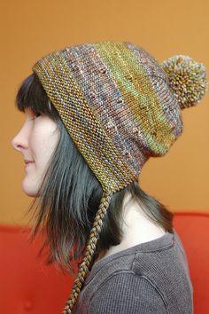 Rooty #hat #pattern #knitting