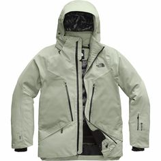 Weatherproof but breathable, Gore-Tex jacket with targeted insulation to make sure you stay the perfect temperature where it matters. Mens Overcoat, Triclimate Jacket, Body Heat, Vest Jacket, Skiing, Snowboarding, The North Face, Jackets, Pattern Ideas