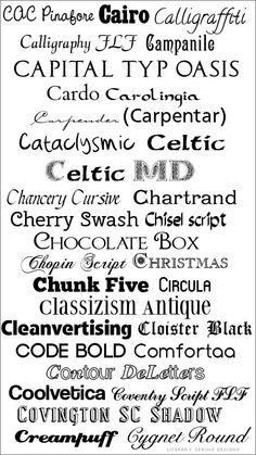 Be a Font