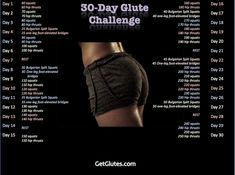 30 Day Challenge. Bret C says this is a better option than all those squat challenges that are just 30 days of squats. Pics of the moves are at the source..