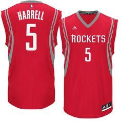 Montrezl Harrell Houston Rockets adidas Road Replica Jersey - Red Produtos f35b515b9