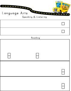 Common Core kindergarten teacher made assessment. Freebie!