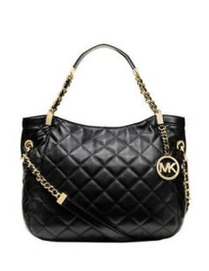 MICHAEL MICHAEL KORS Susanna Quilted Leather Medium Tote Bag