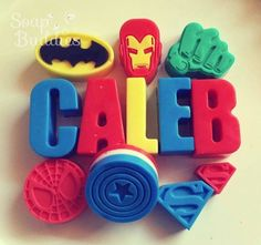 Superhero soaps Party Theme | Life's Little CelebrationsLife's Little Celebrations