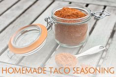 Homemade Taco Seasoning Mix  made by @Tara Kuczykowski