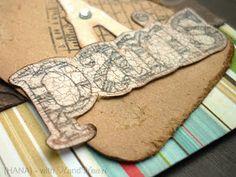 Yabo craft tag by Hana Hana, Desserts, Crafts, Inspiration, Food, Tailgate Desserts, Biblical Inspiration, Deserts, Manualidades