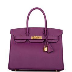 Hermes Bags, Hermes Handbags, Epsom, France Colors, Luxury Jewelry Brands, Purple Leather, Leather Fashion, Fashion Fashion, Runway Fashion