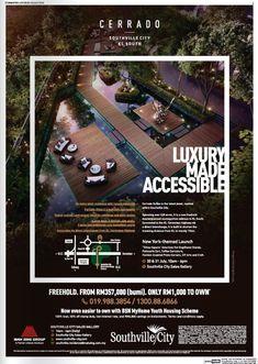 #cerrado Real Estate Advertising, Real Estate Ads, Real Estate Flyers, Creative Advertising, Print Advertising, Print Ads, Brochure Layout, Brochure Design, Branding Design