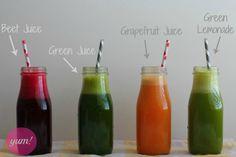 4 Delicious Juicing Recipes