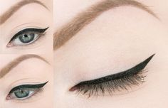 Beauty blogger Helena Rönnblad wearing Blueberry Intense Liner Waterproof. #eyeliner  #lumene