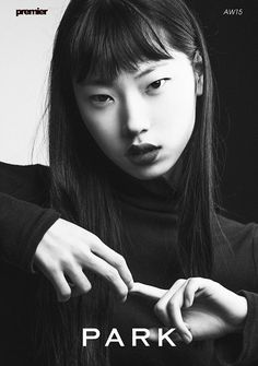 KOREAN MODEL • Park Hee Jeong show package for LFW Fall 2015 with...