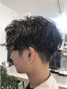 Permed Hairstyles, Cool Hairstyles, Indie Haircut, Asian Men Hairstyle, Haircuts For Men, Hair Inspo, Short Hair Cuts, New Hair, Curly Hair Styles