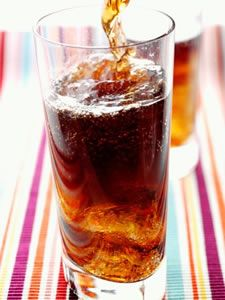 Piscola....(Is a very typical alcoholic drink of Chile, made with pisco, coca cola and ice)