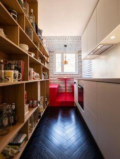 Diseño de departamento de 45 metros cuadrados, descubre la moderna decoración orientada a dar mayor amplitud