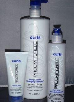 Paul Mitchell Curls Spring Loaded Shampoo 33.8oz Full Circle Leave In Treatment 6.8oz Ultimate Wave Trial 2.5oz Duo Set by Curls. $59.99. Ultimate Wave 2.5oz. Spring Loaded Shampoo Liter. Full Circle Leave-In Treatment 6.8oz. The detangling, frizz fighting defining smoothing hydrating answer to beautiful curls.