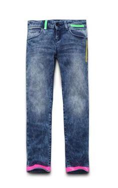 Guess bambini primavera estate 2015: Piccole Fashion Victim crescono Guess bambini primavera estate 2015 Junior jeans