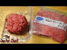 Quick Tips: Meat Freezing Tips Flatten ground beef in plastic bags for faster freezing and thawing New Cooking, Cooking Recipes, One Pot Chef, Beef Patty, Beef Tips, Food Facts, Baking Tips, Meals For One, Freezer Meals