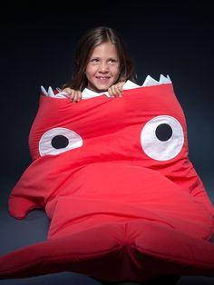 Baby Bites - Nuevo saco rojo para niños, con bolsa de regalo