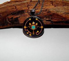 Zelda Sheikah Slate Eye Symbol pendant necklace jewelry Zelda