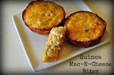 Quinoa Mac-n-Cheese Bites