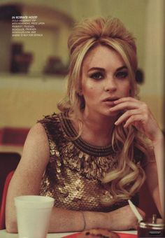Lindsay Lohan.hot mess. Great photo