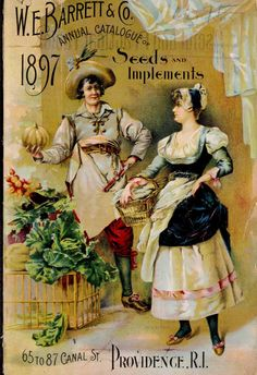 W.E. Barrett & Co Annual catalogue of seeds and implements 1897