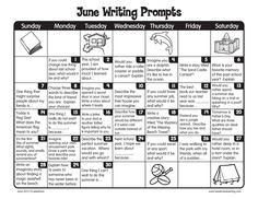 Summer Writing Prompts For Grade For You. Summer Writing Prompts For Grade - Grade Free Printable Worksheets - Pro Worksheets Writing Prompts For Writers, Picture Writing Prompts, Writing Lessons, Kids Writing, Teaching Writing, Writing Activities, Essay Writing, Writing Ideas, Second Grade Writing Prompts