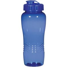 Poly Clean Wave Bottle (26 Oz.)   Personalized Water Bottles