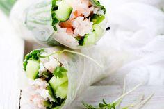 Rice paper wraps