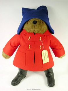 Paddington Bear needs to be Teddy's Halloween costume some year