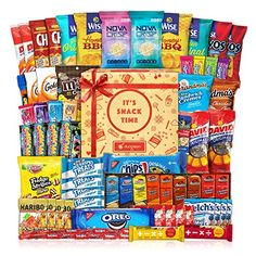 Care Package (60 Count) Cookie Chips & Candies Party Snack Gift Bundle ** Be sure to check out this awesome product. (This is an affiliate link) #partysnacks