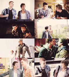 Lip Gallagher + Ian Gallagher (Shameless)
