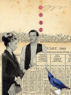 Collage illustration 'Film Set'... by Malcolm Turner