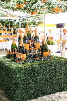 Veuve Clicquot-mosphere at the Veuve Clicquot  Polo Tournament, NY