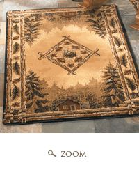 Cabela S Grand River Lodge Area Rugs 1 10 Quot X 3 Area