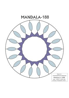MANDALA-188 Stained glass pattern, Mosaic pattern, Painting glass pattern, to DOWNLOAD PDF, Suncatcher, Window panel, Window handing ויטראז by VitrageMosaicDesign on Etsy