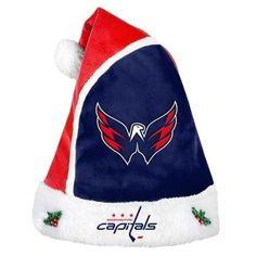 Washington Capitals 2015 NHL Hockey Team Logo Holiday Plush Basic Santa Hat
