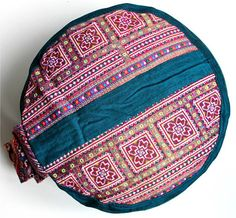 Meditation Cushion Yoga Relaxpillow Cushion ZAFU  & POUF ORIGINAL Seatcushion via Etsy