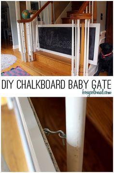 DIY Chalkboard Baby