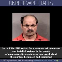 serial killer facts | Serial Killer BTK worked for a home security company and installed ...